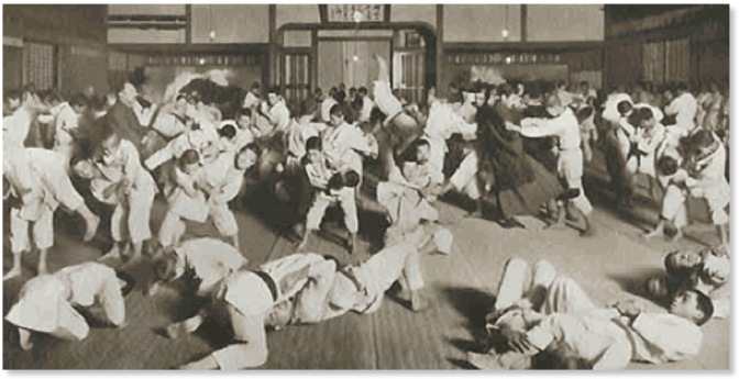 dojo, Jigoro KANO,Kodokan ,Tokyo 1913