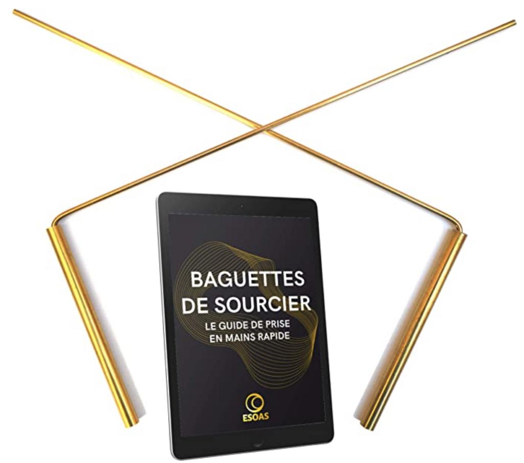 Baguettes DE SOURCIER parallèles coudées en L